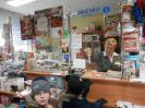 Grupy 4-5 latków odwiedzają pocztę
